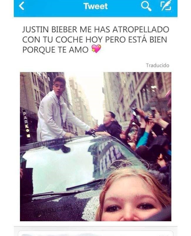 lustin bieber me ha atropellado