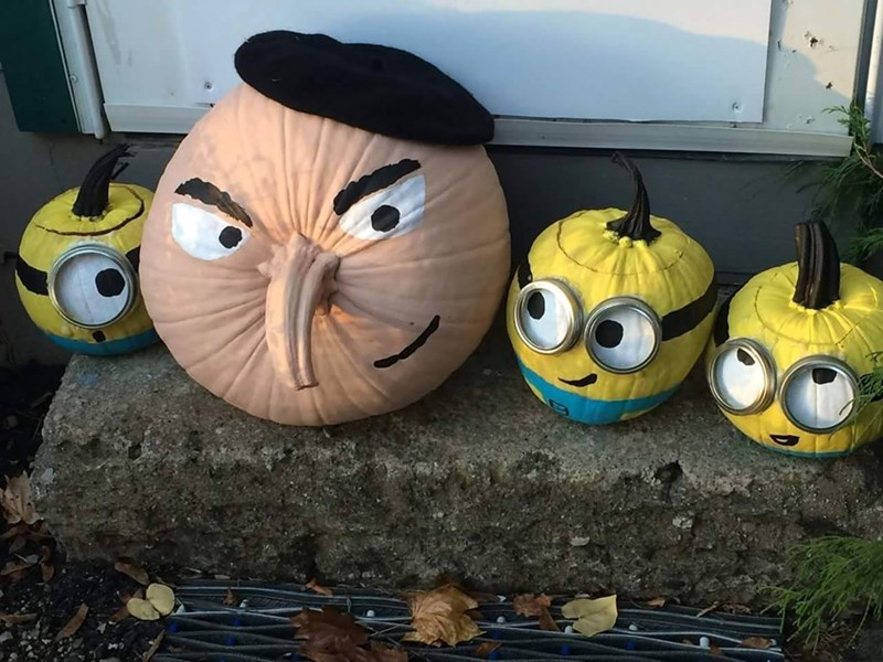 halloween memes despicable me pumpkins