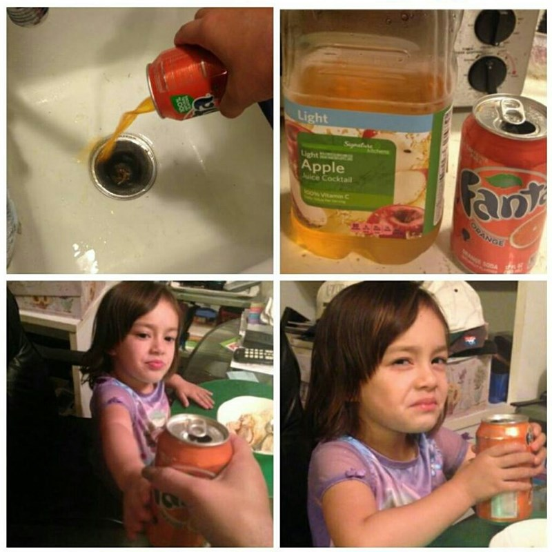 trolling memes fanta apple juice switch