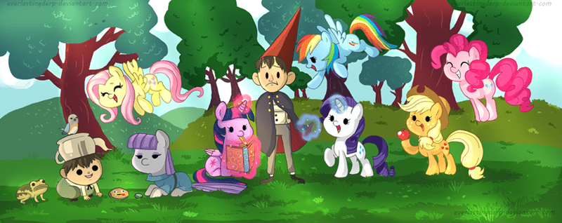 over the garden wall mane six - 8580163840