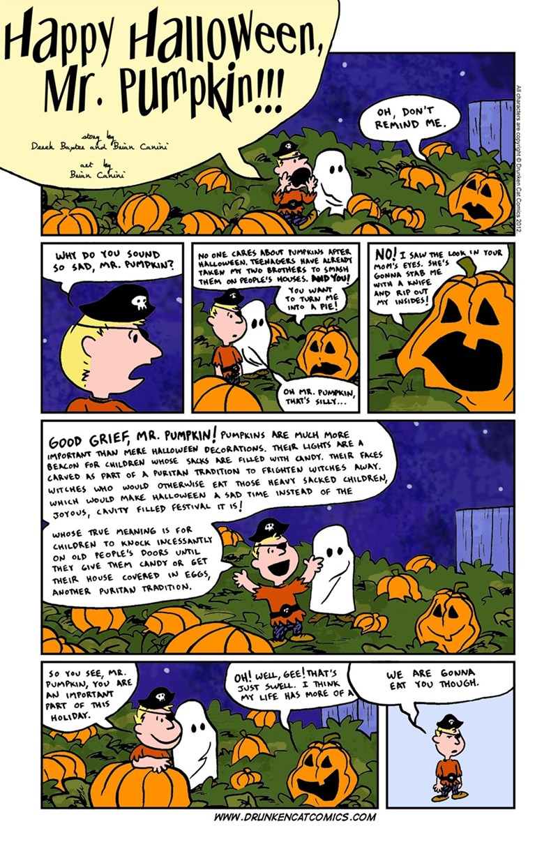 halloween web comics The Meaning of Pumpkins