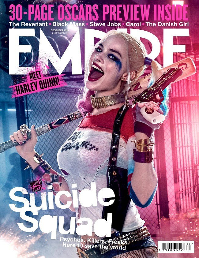 suicide squad harley quinn deadshot Harley Quinn and Deadshot Join the Growing List of Suicide Squad Characters Revealed on Empire's Covers