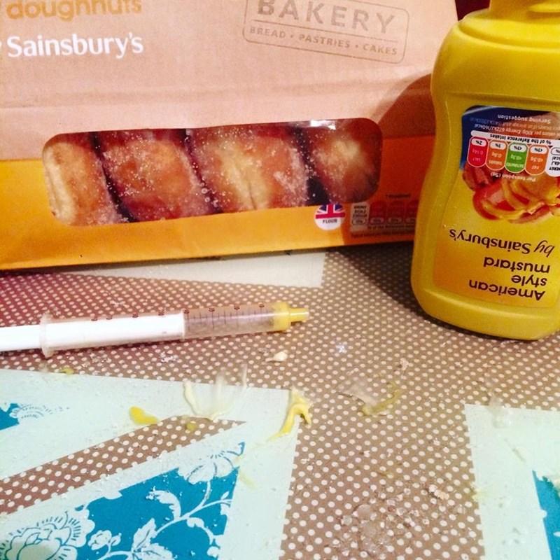trolling memes mustard donuts