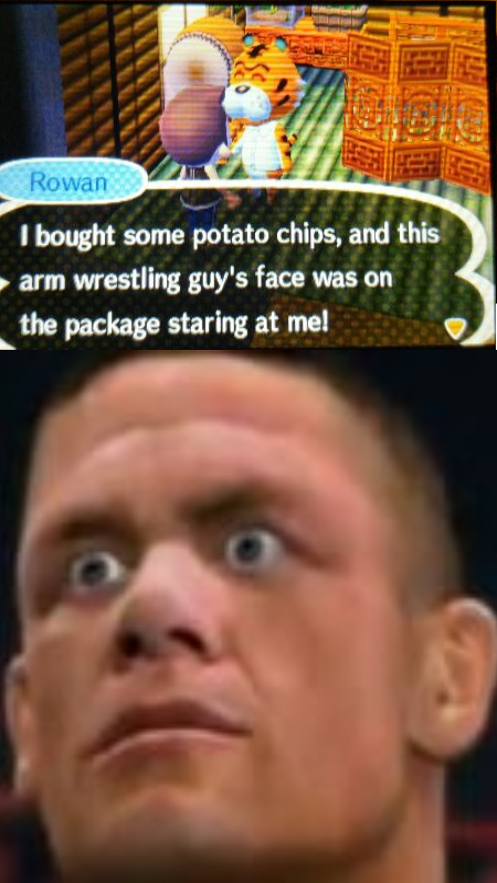 john cena,animal crossing