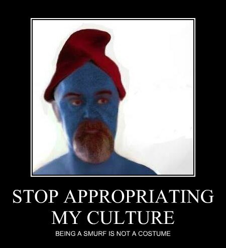 STOP APPROPRIATING MY CULTURE