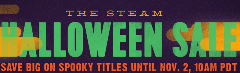 video game news halloween steam sale