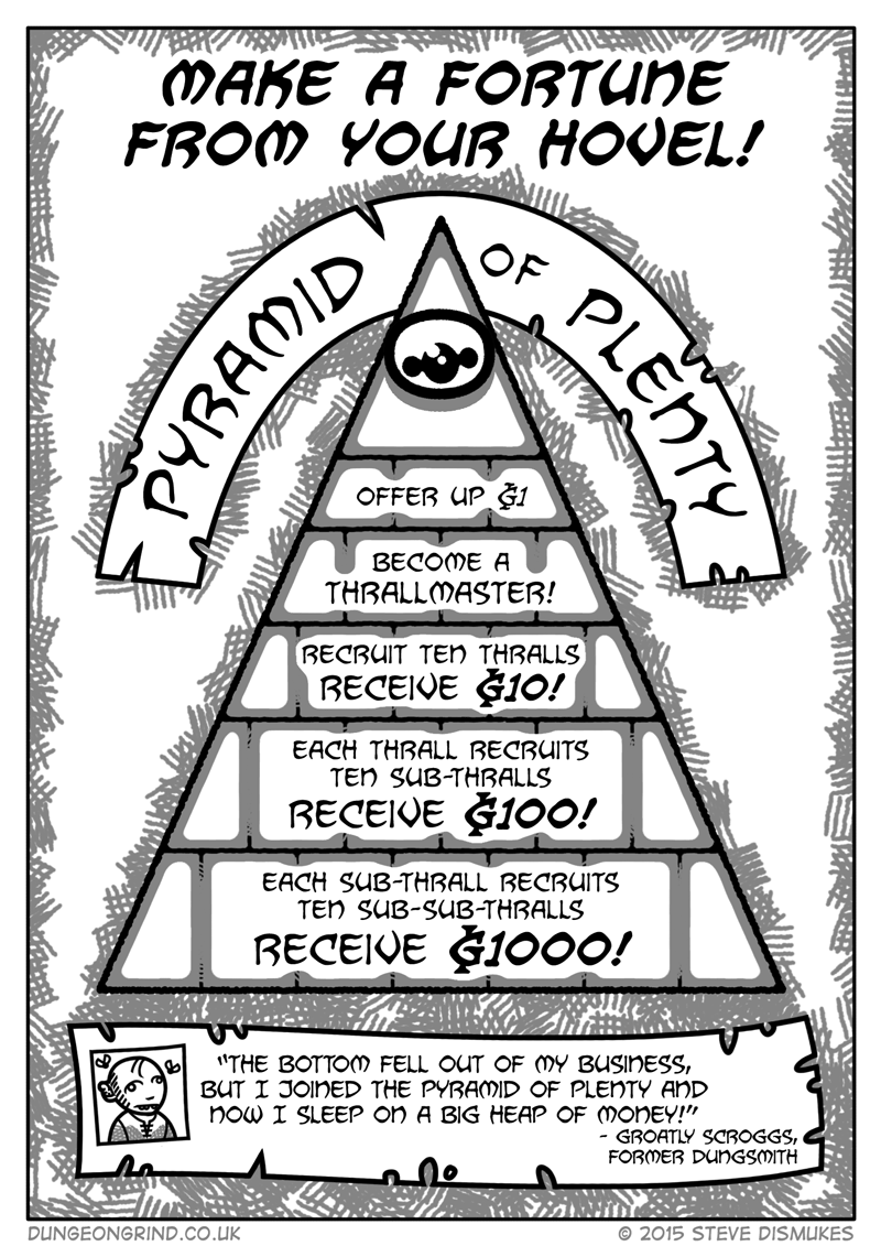 rpg pyramid scheme web comics It's Not a Pyramid Scheme!