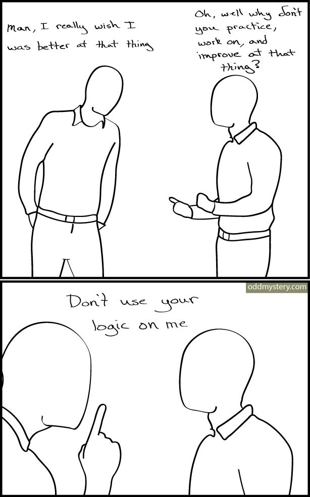 web comics logic I Was Just Venting