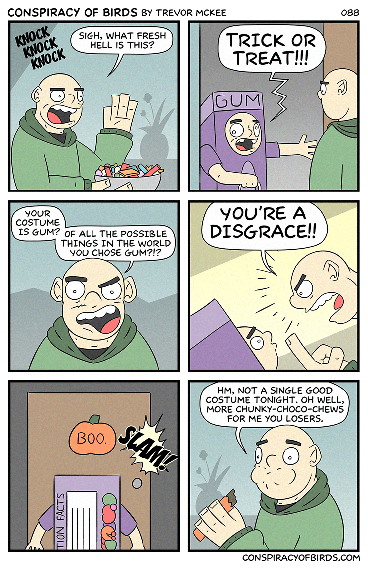 web comics halloween Nothing But This Candy Meets My Approval