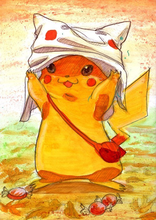 pokemon memes ghost pikachu