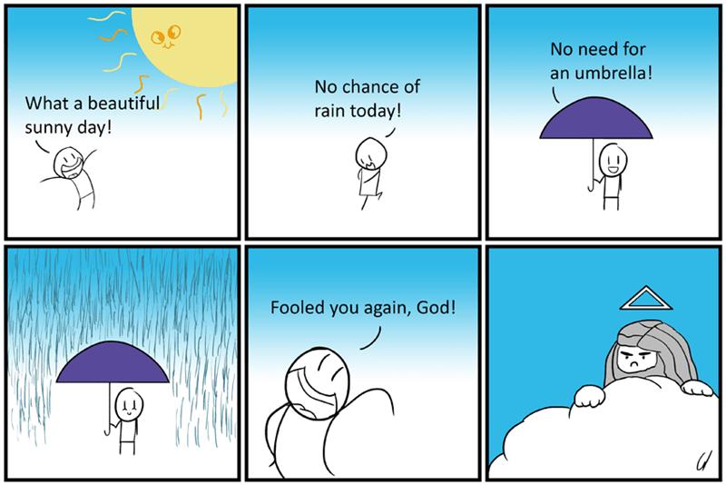 web comics rain Always Be Prepared