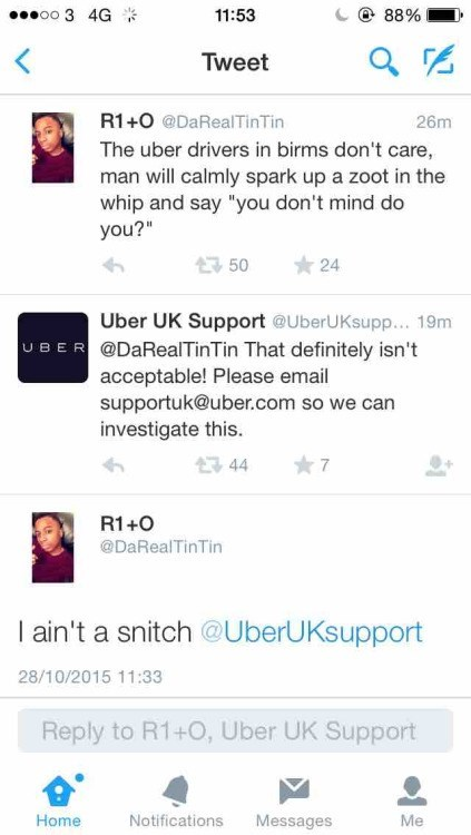 funny memes no snitching uber