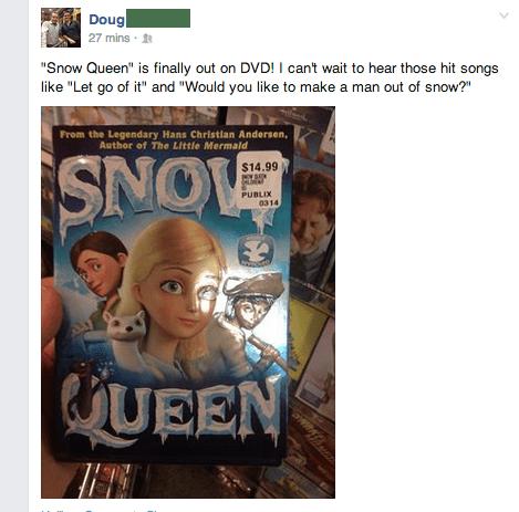 cartoon memes frozen knock off