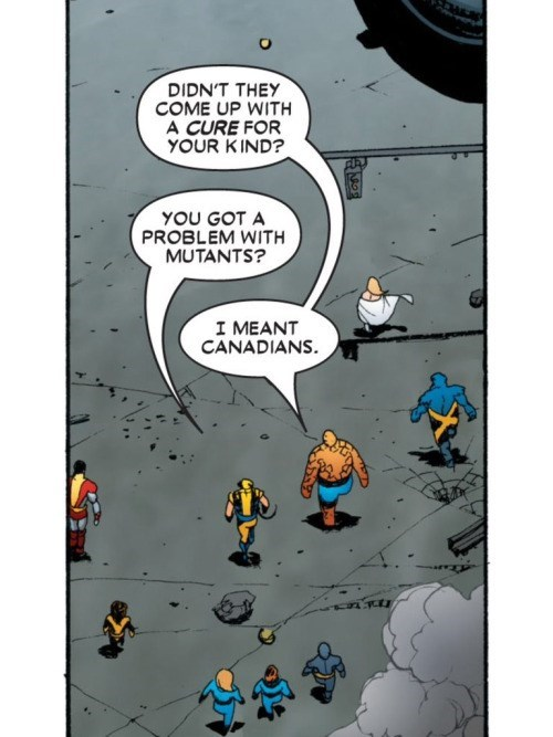 x men fantastic four canadian ouch