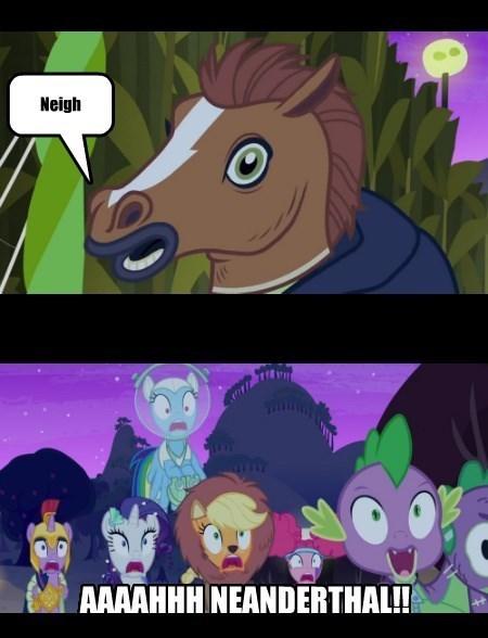 horse mask scare master - 8580984320