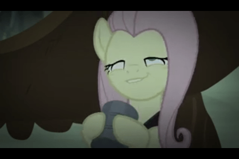 that looks naughty scare master fluttershy - 8581015040