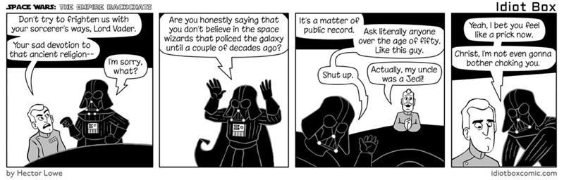 web comics star wars It Was an Exaggeration