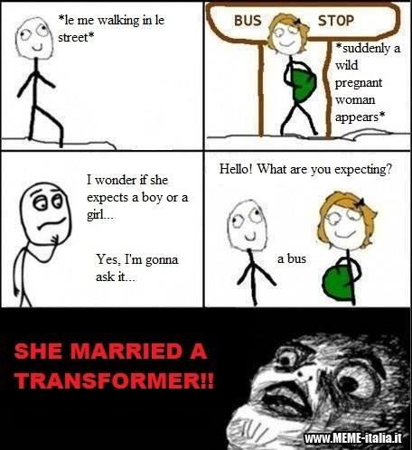 bus transformers pregnant - 8581346816