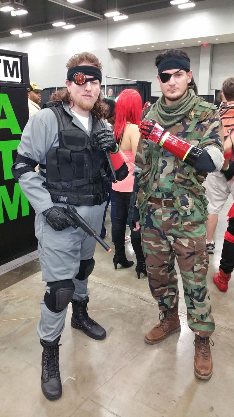 cosplay metal gear solid - 8581350144