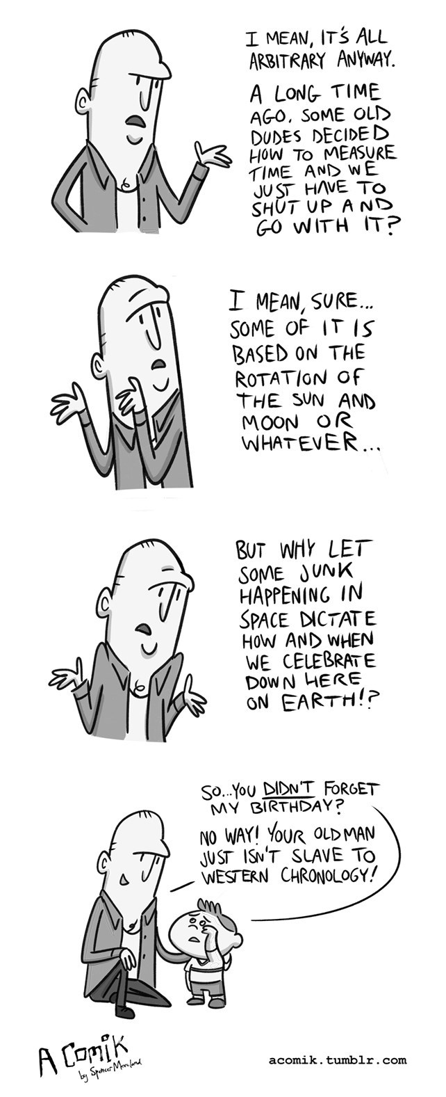birthday web comics Do I Still Get Presents?