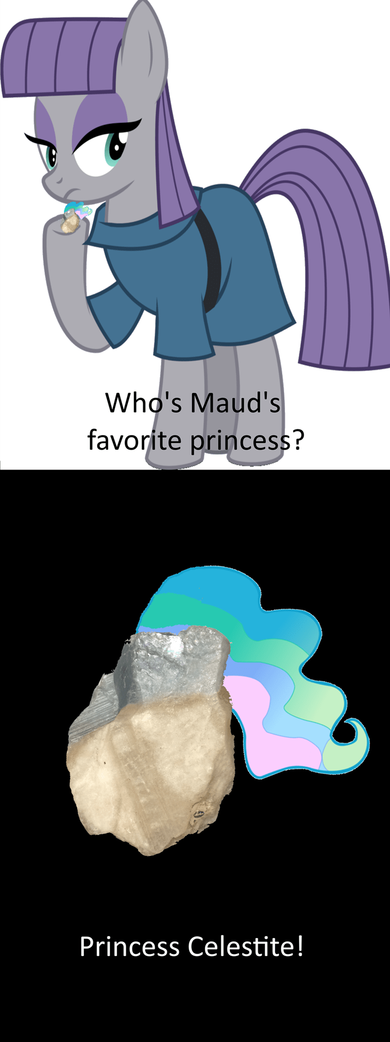 princess celestia maud pie - 8581454080