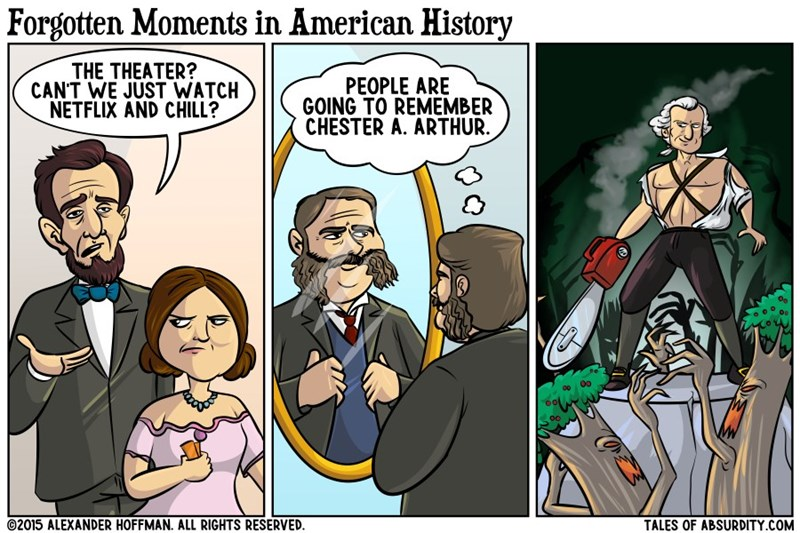 web comics history They Don't Teach That in School
