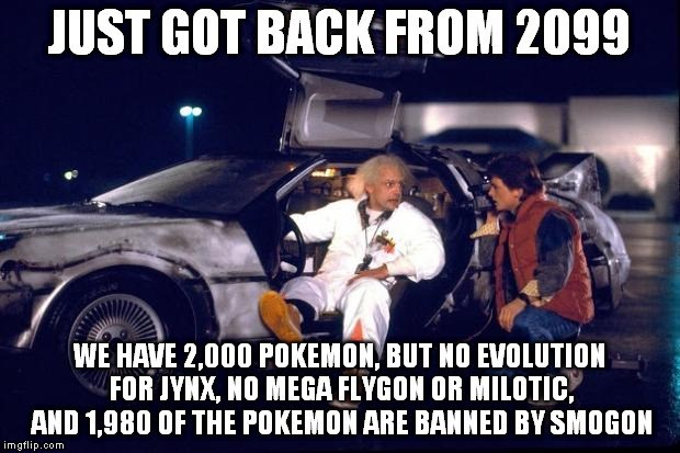 Pokémon,back to the future