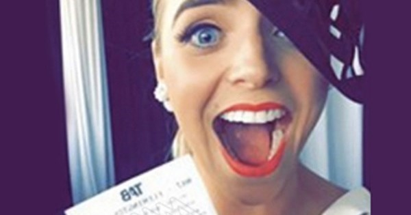 Fail of The Day: Woman Loses Winning Horse Race After Posting Ticket Barcode on Facebook