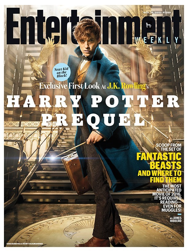 harry potter news fantastic beasts ew cover story