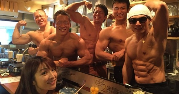 Pecs of The Day: Japan Has a Butcher Shop Where The Butchers are Beefcakes