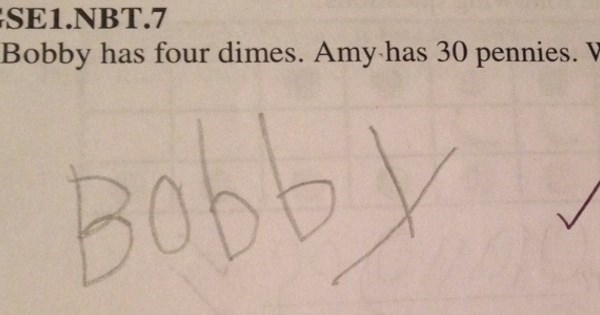 Genius of The Day: This Kid Had The Best Answer Ever to a Simple Math Problem