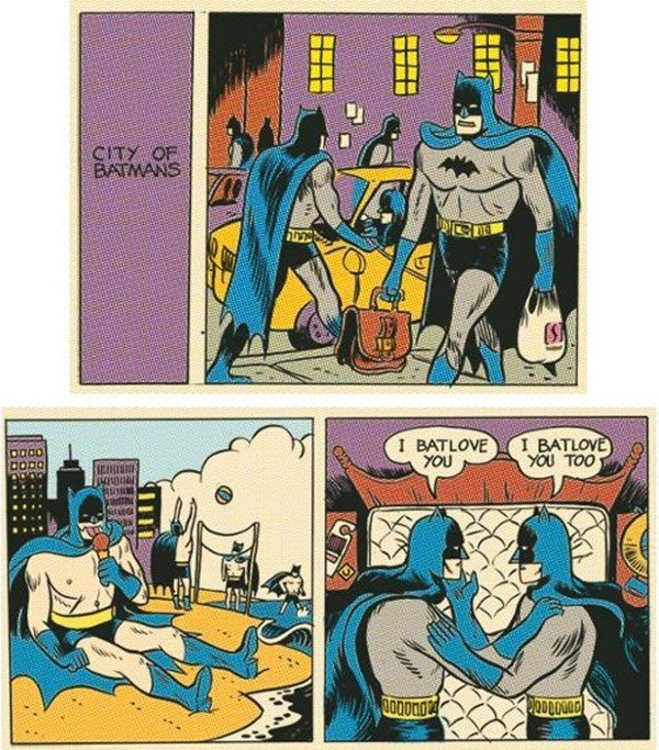 batman Straight off the Page - 8582079488