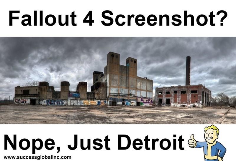 trolling memes fallout detroit
