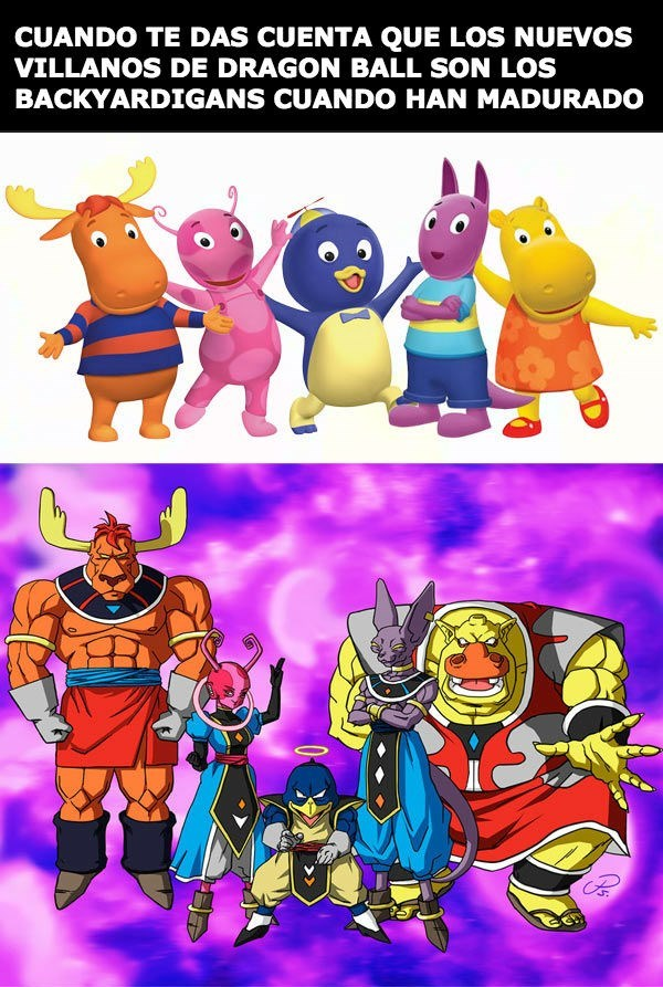 dragon ball Backyardigans