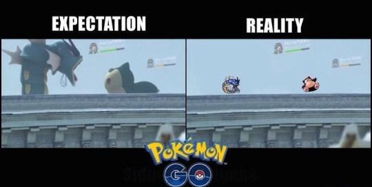 pokemon memes go expectations vs reality