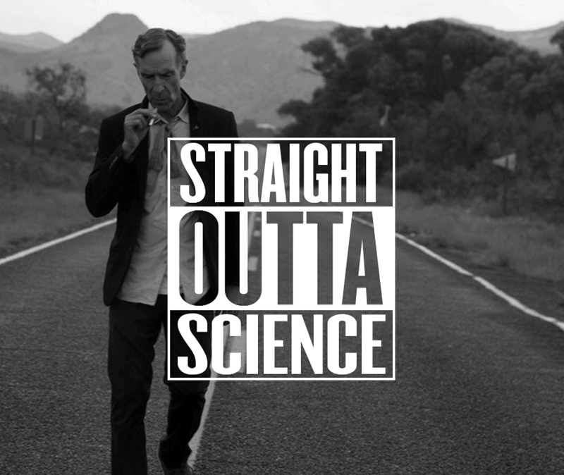 Font - STRAIGHT OUTTA SCIENCE