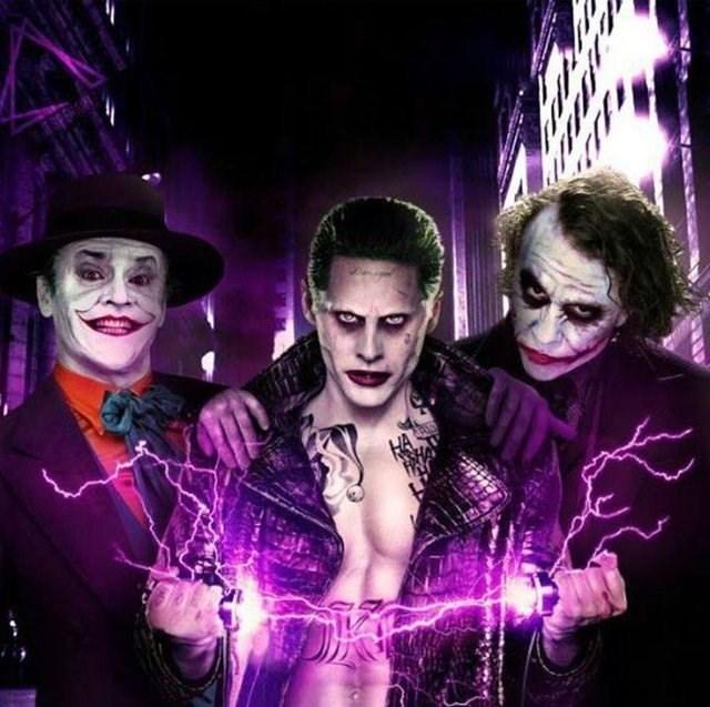 joker batman movies All Three Jokers in One Room