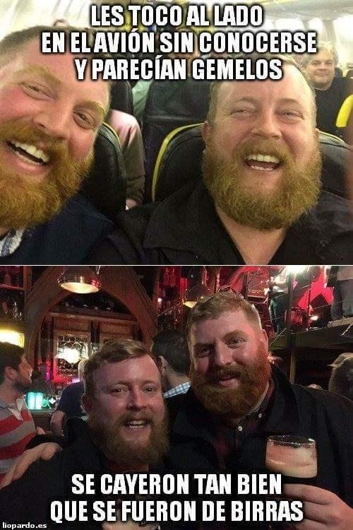 gemelos casuales