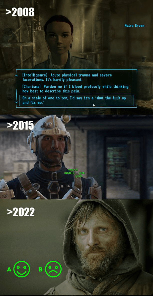 video game memes fallout dialogue
