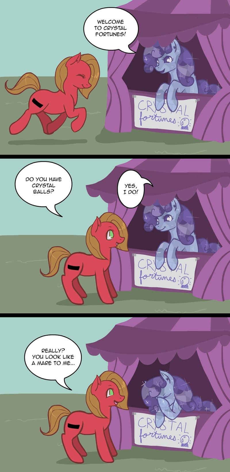 pun pony crystal pony - 8582470400