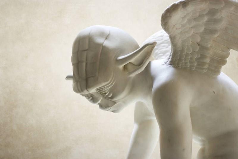 star wars greek sculptures