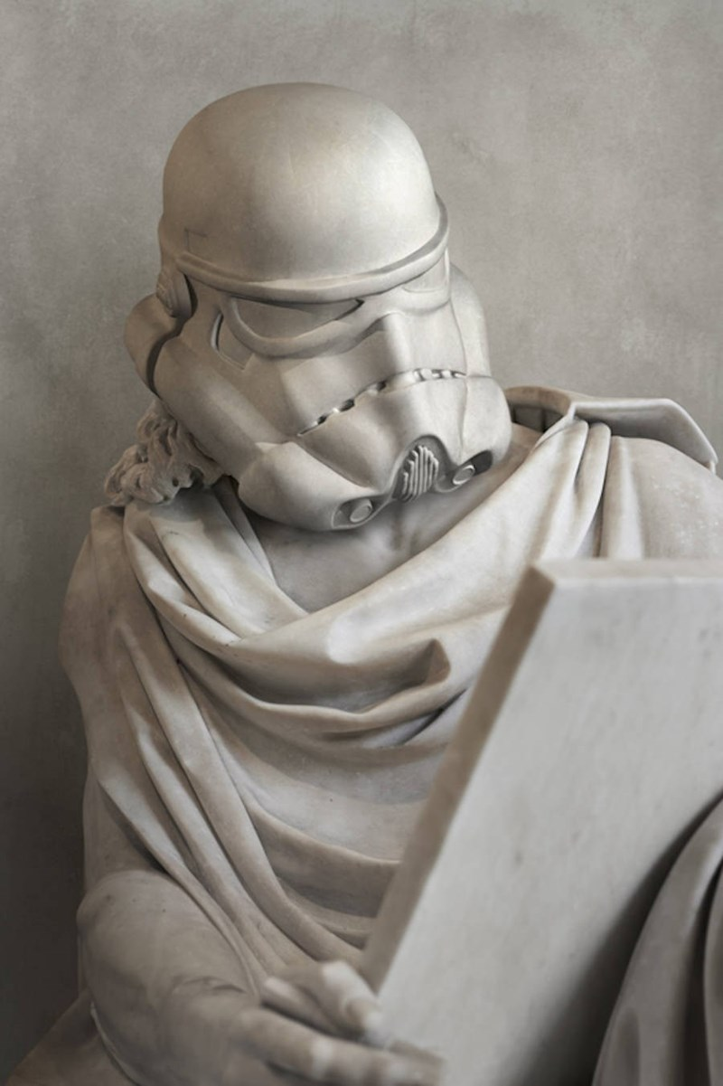 star wars greek sculptures