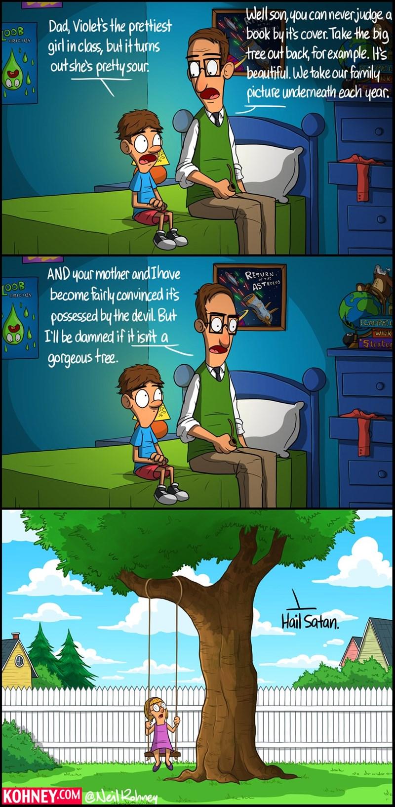 trees satan friendships web comics - 8582619904