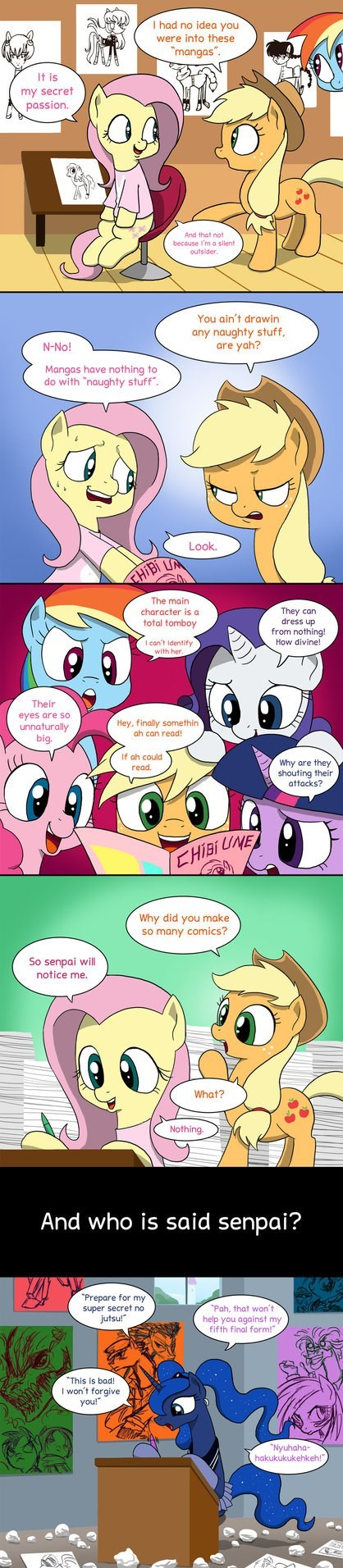 princess luna,mane six,otaku