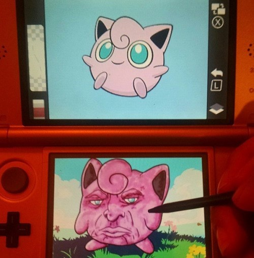 wtf pokemon art academy
