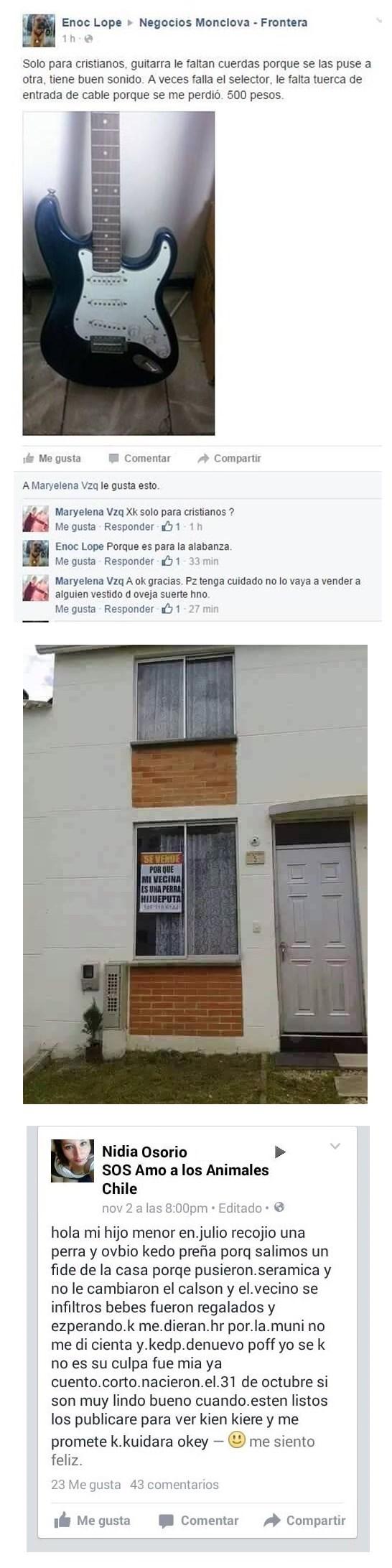 Avisos comunitarios