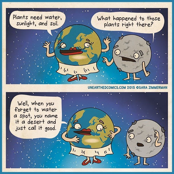earth web comics How Deserts are Made