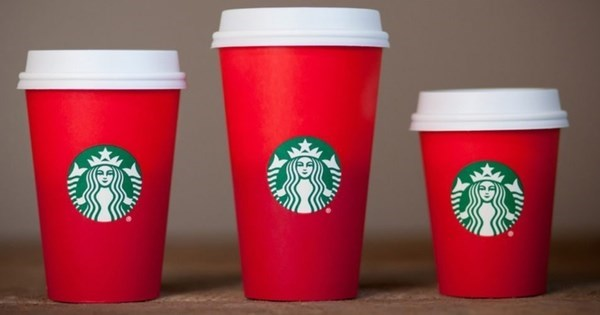 WTF of The Day: Some Christians Are Upset Because Starbucks Christmas Cups Don't Have Snowflakes