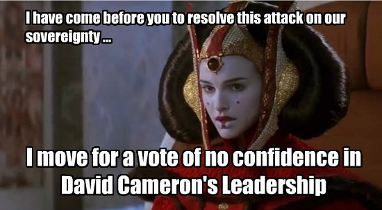 I have come before you to resolve this attack on our sovereignty ...
