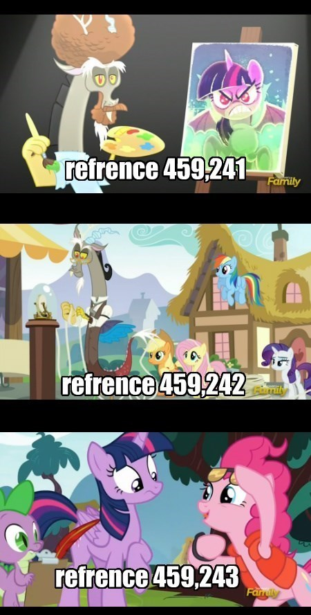 spike applejack discord what about discord twilight sparkle pinkie pie rarity rainbow dash flutershy - 8583117824